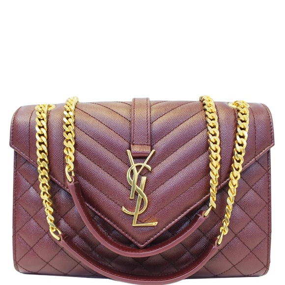YVES SAINT LAURENT Handbags - YVES SAINT LAURENT ENVELOPE MEDIUM CHAIN SHOULDER